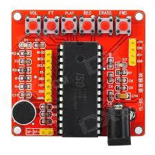 ISD1700 red voice recording