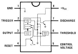 Ne555p Single Precision Timer Electronic In Touch
